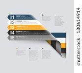Stock vector design template fully editable vector 130614914