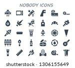 nobody icon set. 30 filled...   Shutterstock .eps vector #1306155649