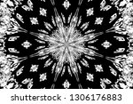 abstract background. monochrome ... | Shutterstock . vector #1306176883