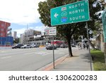 los angeles  ca   usa   2 5... | Shutterstock . vector #1306200283