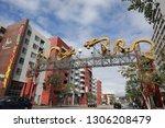 los angeles  ca   usa   2 5... | Shutterstock . vector #1306208479