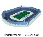 vector illustration of stadium... | Shutterstock .eps vector #130621550