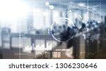 business intelligence bi key... | Shutterstock . vector #1306230646