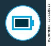 battery icon colored symbol....