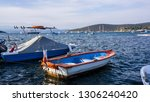 view of sigacik which is a... | Shutterstock . vector #1306240420