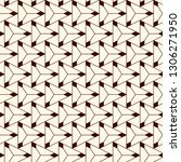 contemporary geometric pattern. ... | Shutterstock .eps vector #1306271950