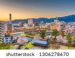 kofu  yamanashi  japan downtown ... | Shutterstock . vector #1306278670