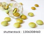 expired medicines. spoiled... | Shutterstock . vector #1306308460