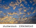 beautiful colorful cloudy...   Shutterstock . vector #1306368163