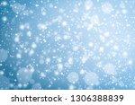 snow winter christmas...   Shutterstock . vector #1306388839