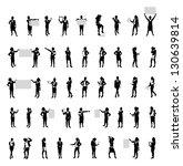 business people set | Shutterstock .eps vector #130639814