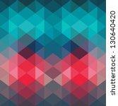 spectrum geometric background... | Shutterstock .eps vector #130640420