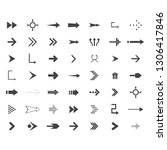 arrows vector collection with...