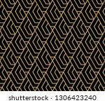 abstract geometric pattern with ... | Shutterstock .eps vector #1306423240