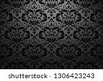 wallpaper in the style of... | Shutterstock .eps vector #1306423243