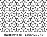 the geometric pattern with... | Shutterstock .eps vector #1306423276