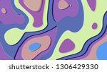 background in paper style.... | Shutterstock . vector #1306429330