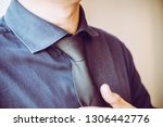 young smart businessman in... | Shutterstock . vector #1306442776