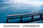 bahia honda state park road... | Shutterstock . vector #1306468543