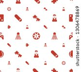 leisure icons pattern seamless... | Shutterstock .eps vector #1306478869