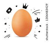 lettering artwork illustrating...   Shutterstock .eps vector #1306483429