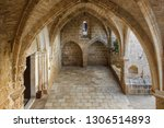 abbey of bellapais in the... | Shutterstock . vector #1306514893