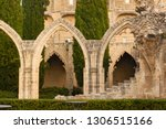 ruins of the abbey of bellapais ... | Shutterstock . vector #1306515166