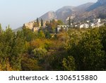 village and bellapais abbey... | Shutterstock . vector #1306515880