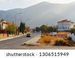 view of the road in suburb of... | Shutterstock . vector #1306515949
