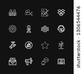 editable 16 share icons for web ...