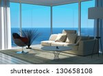 A 3d Rendering Of Sunny Living...