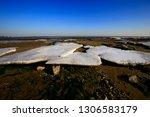 the winter sea ice | Shutterstock . vector #1306583179