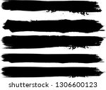 grunge paint roller . vector... | Shutterstock .eps vector #1306600123