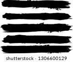 grunge paint roller . vector... | Shutterstock .eps vector #1306600129