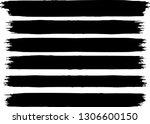 grunge paint roller . vector... | Shutterstock .eps vector #1306600150