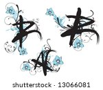 set of design elements | Shutterstock .eps vector #13066081