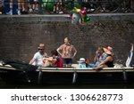 amsterdam  holland   august 4... | Shutterstock . vector #1306628773