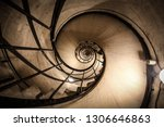 spiral staircase in a triumphal ... | Shutterstock . vector #1306646863