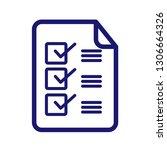 check list payment method... | Shutterstock .eps vector #1306664326