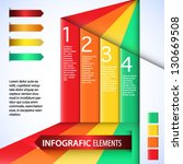 infografic elements. colorful...   Shutterstock .eps vector #130669508