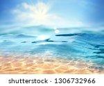 summer landscape  nature of...   Shutterstock . vector #1306732966