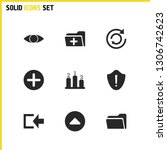 user icons set with add  see...
