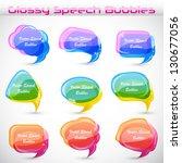 easy to edit vector... | Shutterstock .eps vector #130677056