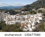 white village called casares... | Shutterstock . vector #130677080