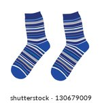 socks | Shutterstock .eps vector #130679009