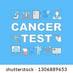 cancer test word concepts...