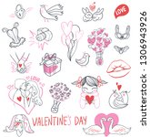 valentine's day special pack... | Shutterstock .eps vector #1306943926