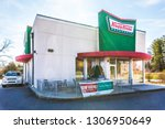 hickory  nc  usa 2 5 19  a... | Shutterstock . vector #1306950649