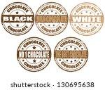 set of grunge rubber stamps... | Shutterstock .eps vector #130695638