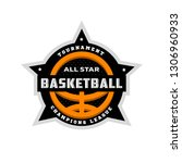 all star basketball  sports... | Shutterstock . vector #1306960933